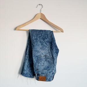 Lucky Brand Lolita Skinny floral brocade jeans